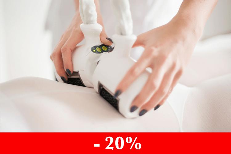 При покупке от 6 процедур на Icoone Lazer скидка 20%